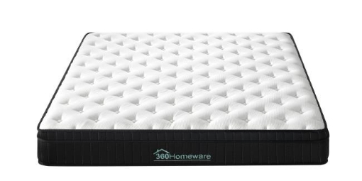 Picture of Euro Top Knit Multi-Zone Spring Mattress Size Single | Free Delivery