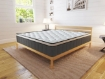Picture of Cooling Gel Hepta-Zone Hybrid Tri-Foam Spring Euro Mattress (15 Year Warranty) Size Double   Free Delivery