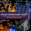 Picture of 52M 500LED String Solar Powered Fairy Lights Garden Christmas D?cor Multi Colour | Free Delivery