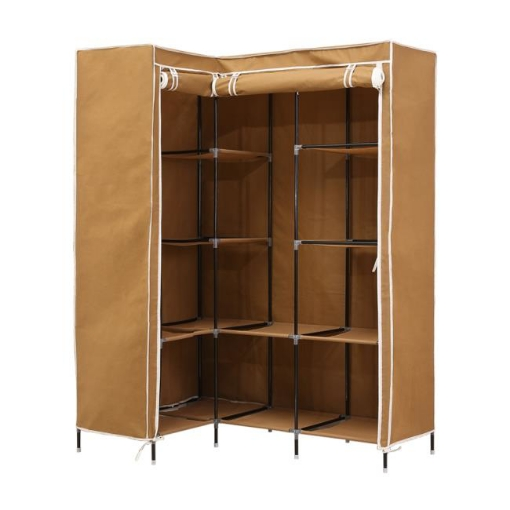 Picture of Levede Portable Wardrobe Clothes Closet Storage Cabinet Organizer With Shelves   Free Delivery
