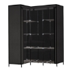 Picture of Levede Portable Clothes Closet Wardrobe Storage Cloth Organiser Unit Shelf Rack | Free Delivery