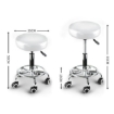 Picture of Levede Bar Stools Swivel Salon Hairdressing Stool Barber Chairs Equipment Beauty   Free Delivery