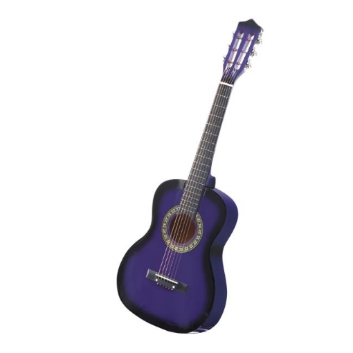 Picture of BoPeep 34 Inch Wooden Folk Acoustic Guitar Classical Cutaway Steel String w/ Bag | Free Delivery