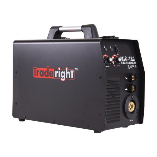 Picture of Traderight 180Amp Welder MIG ARC MAG Welding Machine Gas / Gasless Portable   Free Delivery