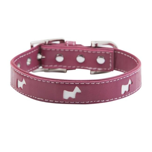 Picture of Pink Hamish Dog Collar Size Small | Free Delivery