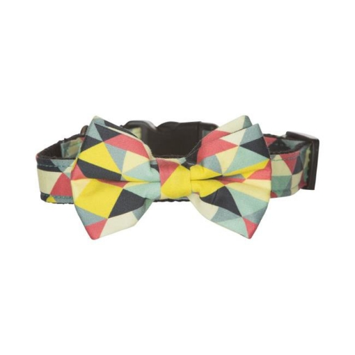 Picture of Bow Tie Dog Collar - Multi Size Medium | Free Delivery