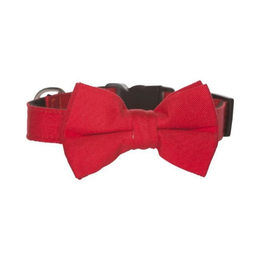 Picture of Bow Tie Dog Collar - Red Size Large | Free Delivery