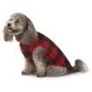 Picture of Red Check Dog Pyjamas Size 35   Free Delivery