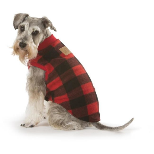 Picture of Red Check Dog Pyjamas Size 45 | Free Delivery