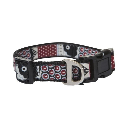 Picture of Black Swimmable Dog Collar Size Medium | Free Delivery