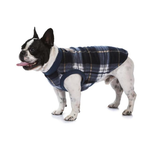 Picture of Blue Tartan Dog Pyjamas Size 80   Free Delivery