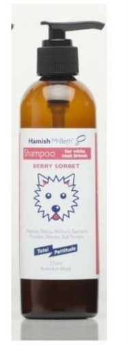 Picture of Westie and White Coat Dog Shampoo   Free Delivery