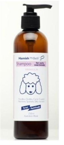Picture of Oodles and Curly Coat Dog Shampoo   Free Delivery
