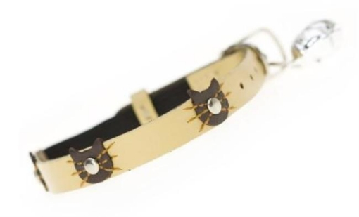 Picture of Felix Cat Collar Color Cream   Free Delivery