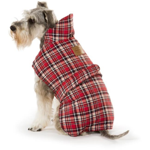 Picture of Tartan Red Dog Coat Size 40cm | Free Delivery