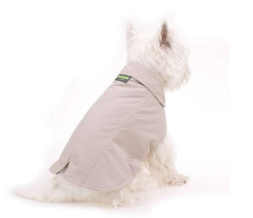 Picture of Ochre Beige Dog Coat Size 40cm | Free Delivery
