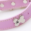 Picture of Pink Bones Bling Dog Collar Size Medium   Free Delivery