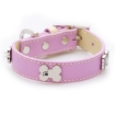 Picture of Pink Bones Bling Dog Collar Size Large | Free Delivery