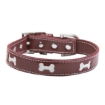 Picture of Red Bones Dog Collar Size Small Color Red | Free Delivery