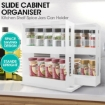 Picture of Rack Storage Slide Cabinet Organiser Pantry Kitchen Shelf Spice Jars Can Holder | Free Delivery