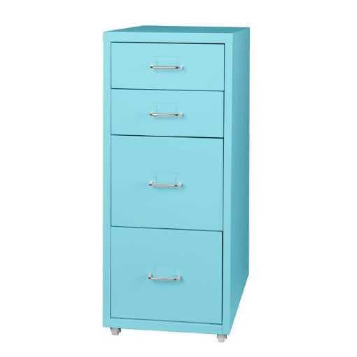 Picture of Filing Cabinet Storage Cabinets Steel Metal Home School Office Organise 4 Drawer   Free Delivery