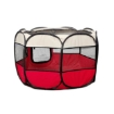 Picture of PaWz Pet Soft Playpen Dog Cat Puppy Play Round Crate Cage Tent Portable L Red | Free Delivery