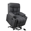 Picture of Levede Recliner Chair Electric Lift Chairs Armchair Lounge Fabric Sofa USB Charge | Free Delivery