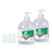 Picture of Cleace 2x Hand Sanitiser Instant Gel Wash 75% Alcohol 99% Anti Bacterial 500ML   Free Delivery