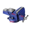 """Picture of 4"""" Heavy Duty Table Bench Vice Workbench Anvil Swivel Base Grip Clamp 100mm 