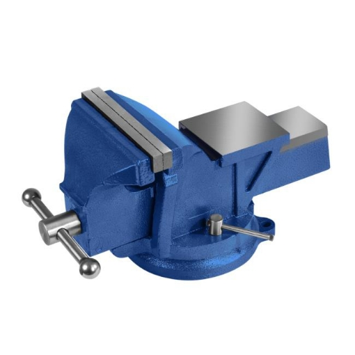 """Picture of 5"""" Heavy Duty Table Bench Vice Workbench Anvil Swivel Base Grip Clamp 125mm 