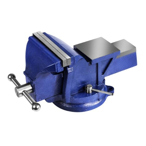 """Picture of 6"""" Heavy Duty Table Bench Vice Workbench Anvil Swivel Base Grip Clamp 150mm   Free Delivery"""