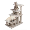 Picture of Cat Tree Beastie Scratching Post Pet Scratcher Condo Tower Scratcher Dog Climbing Cream   Free Delivery