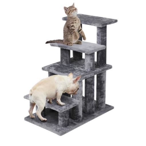 Picture of Cat Tree Beastie Scratching Post Pet Scratcher Condo Tower Scratcher Dog Climbing Grey   Free Delivery