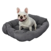 Picture of PaWz Pet Bed 2 Way Use Dog Cat Soft Warm Calming Mat Sleeping Kennel Sofa Grey S   Free Delivery