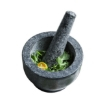 Picture of Solid Stone Food Preparation Unpolished Granite Spice Herb Grinder Kitchen Tools | Free Delivery