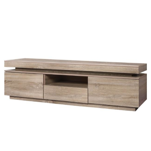 Picture of Levede TV Cabinet Entertainment Unit Stand RGB LED Furniture Wooden Shelf 180cm | Free Delivery