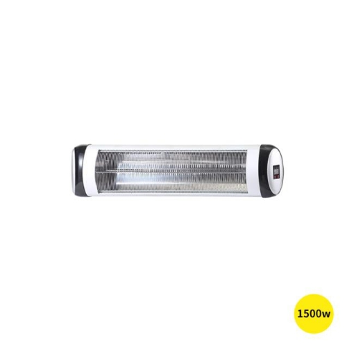 Picture of Spector 1500W Electric Infrared Patio Heater Radiant Strip Indoor Remote   Free Delivery