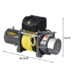 Picture of 5443kgs Electric Winch Wireless Control 12V with Synthetic Rope   Free Delivery
