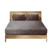 Picture of Ultra Soft Fitted Bedsheet with Pillowcase Double Size Mink   Free Delivery