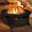 Picture of 3 in 1 Outdoor Garden Fire Pit BBQ Firepit Brazier Round Stove Patio Heater | Free Delivery