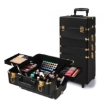 Picture of Makeup Case Professional Makeup Organiser 7 in 1 Trolley Black Gold   Free Delivery