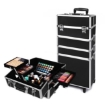 Picture of Makeup Case Professional Makeup Organiser 7 in 1 Trolley Black White | Free Delivery