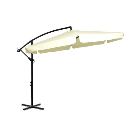 Picture of 3M Patio Outdoor Umbrella Cantilever Beige | Free Delivery