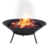 Picture of 2IN1 Steel Fire Pit Bowl Firepit Garden Outdoor Patio Fireplace Heater 70cm | Free Delivery