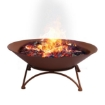 Picture of 2 IN 1 Fire Pit Outdoor Pits Bowl Steel Firepit Garden Patio Fireplace Heater | Free Delivery
