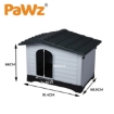 Picture of PaWz Dog Kennel Outdoor Indoor Pet Plastic Garden Large House Weatherproof Outside   Free Delivery
