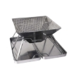 Picture of Charcoal BBQ Grill Foldable Barbecue Portable Outdoor Steel Roast Camping Picnic | Free Delivery
