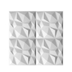 Picture of 12Pcs 3D PVC Wall Panels EcoFriendly Paintable Home Background Decor 50x50cm | Free Delivery