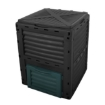 Picture of 290L Compost Bin Food Waste Recycling Composter Kitchen Garden Composting Black | Free Delivery