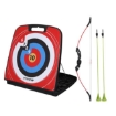 Picture of Soft Archery Set  Kids Adult Bow and Arrow Shooting Target Arrows Outdoor Game   Free Delivery